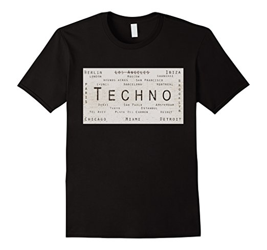 Techno Cities Tee